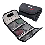 Adorama Slinger Filter Wallet - InchP- Inch Holds Six 82mm Round or Six - Inch Series Square Filters- Black offers