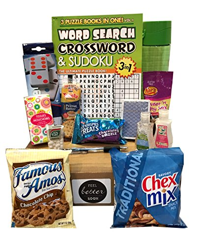 Get Well Soon Care Package - Several to Choose From - (Feel Better Soon) (Edible Gifts Delivered)