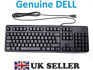 c2038e0807e Genuine Original DELL USB Keyboard BLACK SLIM TURKISH Layout QWERTY , Brand New  and Boxed ,