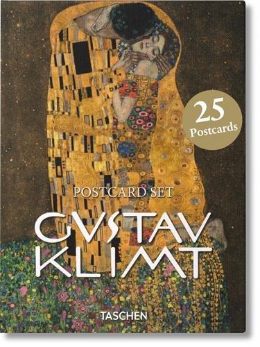 Gustav Klimt. 25 Postcards (Multilingue) Carte – 31 lug 2016 Aa.Vv. Taschen 383654332X ART / European