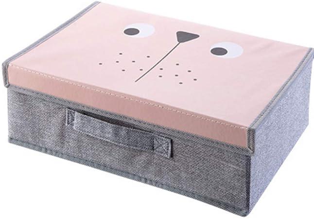 myvovo) Conjunto de 2 Piezas Ropa Interior Sujetador Organizador Caja de Almacenamiento 2 Colores Rosa/Azul Cajón Organizadores del Armario Cajas para Ropa Interior Bufanda Calcetines Organizador: Amazon.es: Hogar
