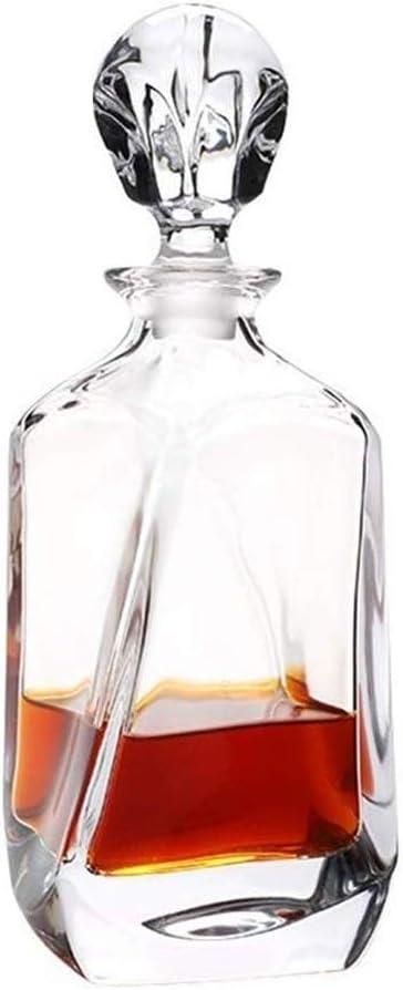 JJLL Aurora Whisky Decanter - 700ML cristalina Moderna ...