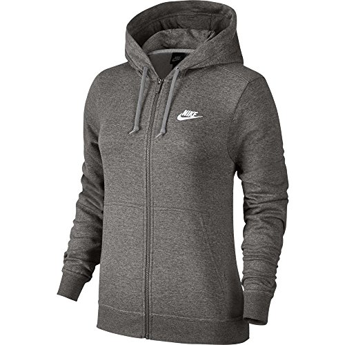Nike Full Zip Fleece Hoodie Womens Style : 853930-063 Size : L by NIKE