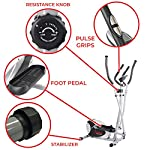 Magnetic-Elliptical-Machine-Trainer-by-Sunny-Health-Fitness-with-LCD-Monitor-220-LB-Max-Weight-8-Level-Resistance-and-Pulse-Monitor-SF-E905