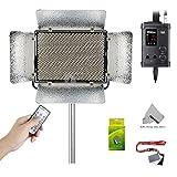 Fomito Aputure Light Storm LS 1C 1536 Lamp Bi-color LED Light Panel with V-mount Plate Adjustable Color Temperature 3200k-5500k