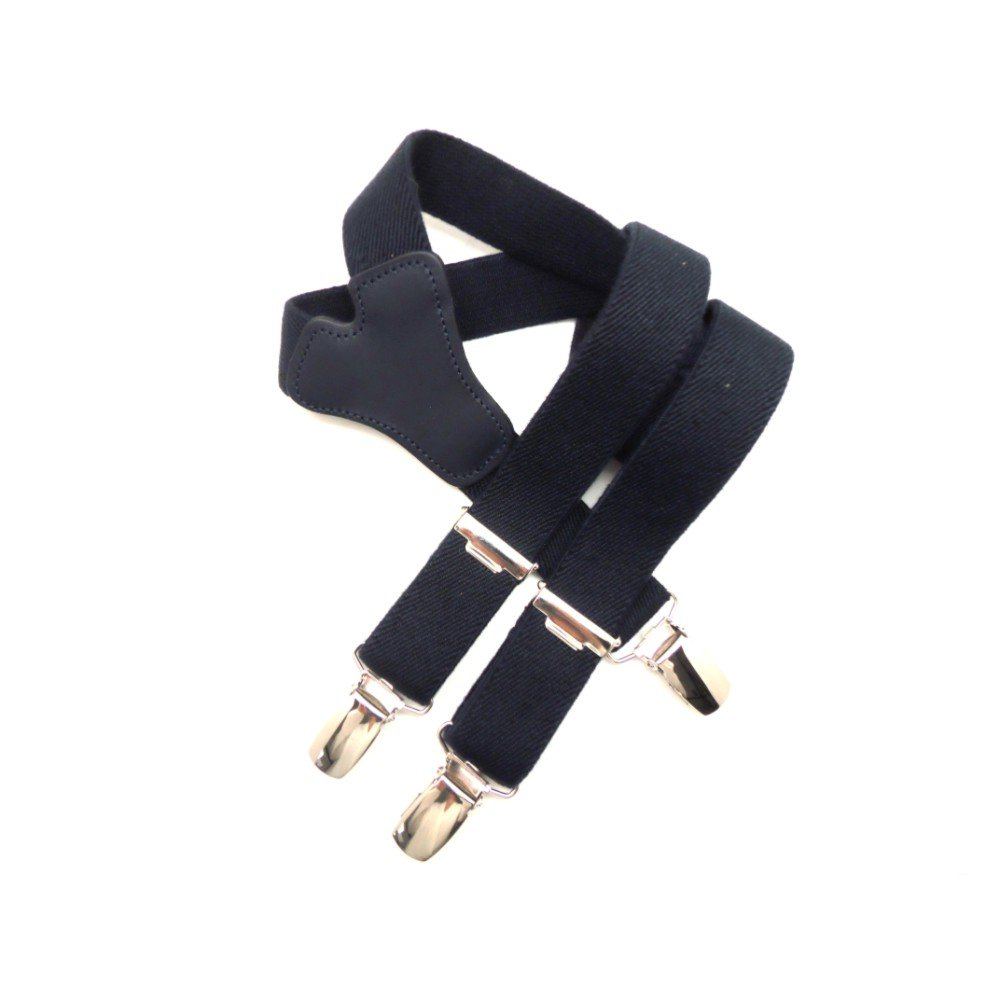 VAELLO - Adjustable Todler braces with leather in the back Color:Blue Size:60 27001 MARINO 60