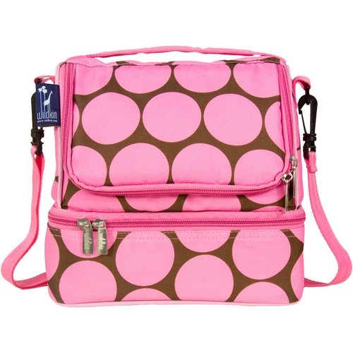 Big Dot Pink Double Decker Lunch Bag by Wildkin - 52085