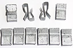 Trailer Wiring Clips - 10 Per Pack - Attach Wiring to Trailer Frame - B51072