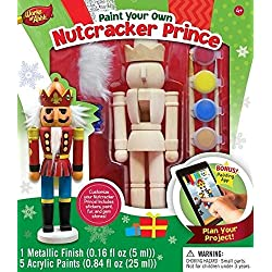 MasterPieces Works of Ahhh Nutcracker Prince Large Wood Paint Kit