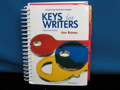 Title: KEYS FOR WRITERS ENHANCED ED 5TH 2009 1424068371 V