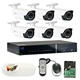 GW Security 8 Channel Tribrid DVR 2.1 Megapixel HD-TVI 1080P Security Camera System with (6) x True HD 1080P Waterproof 2.8-12mm Varifocal Zoom Bullet Security Camera Review