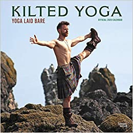 Kilted Yoga Square Wall Calendar: Amazon.es: Browntrout ...