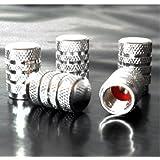 871125238015 Set Ventilkappen rote (Silver)