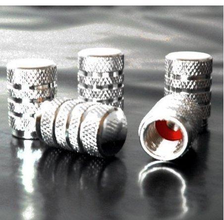 Silver 871125238015 Set Ventilkappen rote