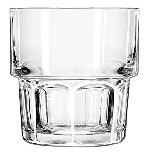 Libbey 15659 Gibraltar Stackable Rocks, 9 oz, M, Clear (Pack of 36) by Libbey (Image #1)