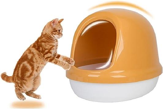 DAN Arenero para Gatos,Bandeja higienica Gatos,Práctico WC para ...