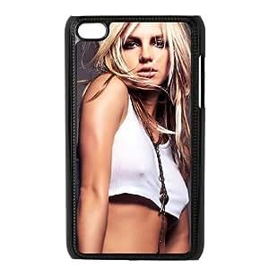YananC(TM) YnaC246289 Custom Cover Case for Ipod Touch 4 w/ Britney Spears