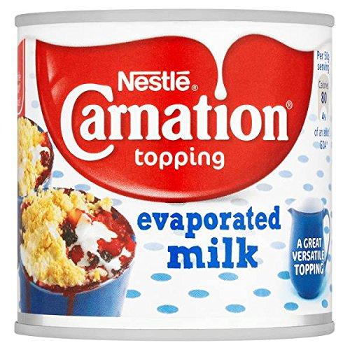 Nestlé Carnation Topping Evaporada Leche 170g (paquete de 12 x 170g)