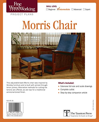 Fine Woodworking's Morris Chair Plan (Fine Woodworking Project Plans) ()