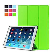 Protection Housse pour Apple iPad Air 2 9.7 Pouce Smart Slim Case Book Cover Stand Flip iPad 6 (Vert) NEUF