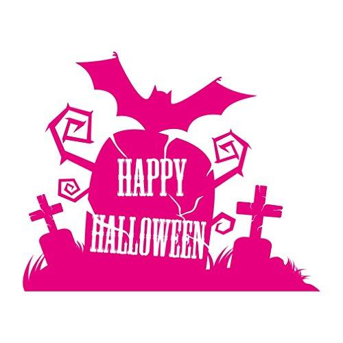 1338__M Wall stiker Halloween ( (Scary Decorations Halloween Homemade)
