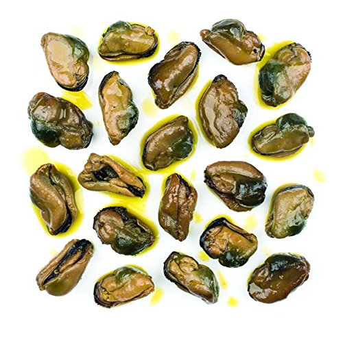 Roland Mussels, Smoked, 3 Ounce (Pack of 10) ()