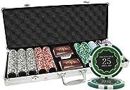 500 Ct Eclipse Casino 14 gram Poker Chip Set Aluminum Case Custom Build