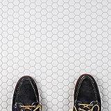 SomerTile FXLMHW Retro Hexagon Porcelain Floor
