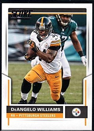 bb8ea1d18 Amazon.com: Football NFL 2017 Score #93 DeAngelo Williams Steelers ...
