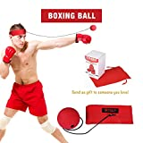 Eagle Ridge Boxing Reflex Ball Improve Speed Hand Eye Coordination Portable and Adjustable Light Weight Cap Speed Training Faster Reaction Great for Fitness