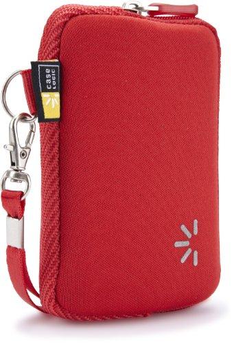 Case Logic UNZB-2 Compact Camera Case (Red)