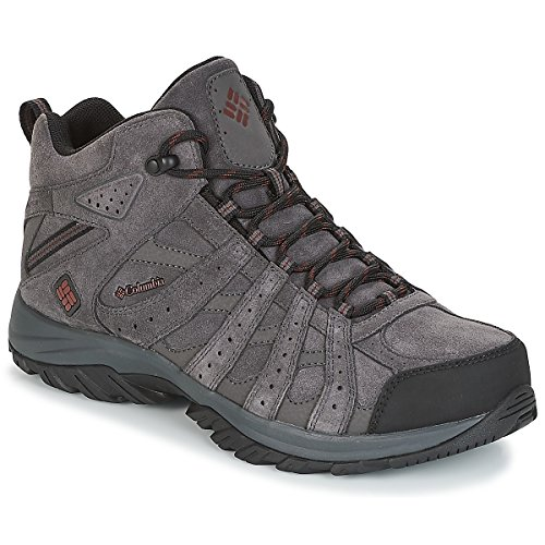 Hommes Gris Point Pour Omni tech Leather Canyon Randonne Mid De Impermable Chaussures Columbia 7qwAxIW