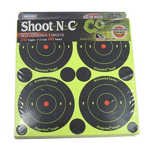 Shoot N C Shooting Target - Birchwood Casey Shoot-N-C 3