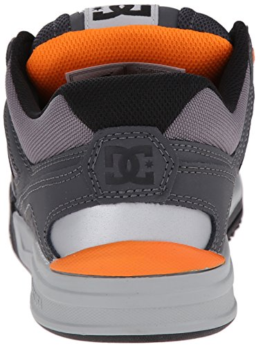Dc Mens Stag Sneaker Grå / Grå / Orange