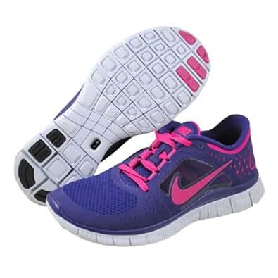 Nike Free Run+3 Womens Running Shoes 510643-401 Night Blue 6 M US