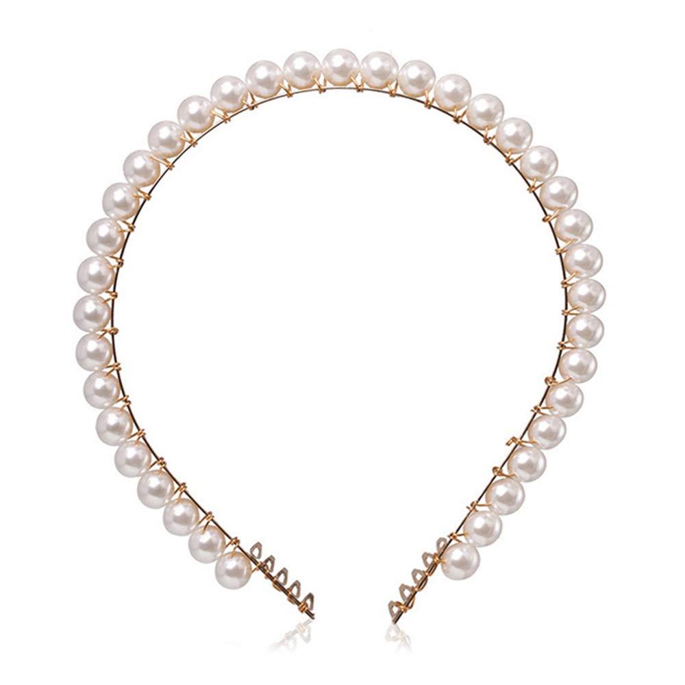 con conchiglie naturali idea regalo per matrimoni e feste Cerchietto per capelli con perle da donna