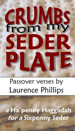 Crumbs From My Seder Plate: Passover verses (English Edition)