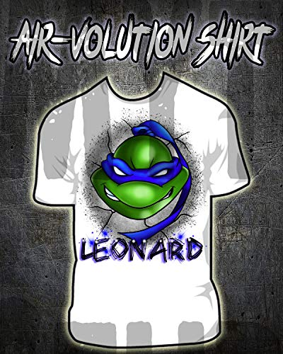 Personalized Airbrush Ninja Turtle Shirt ()