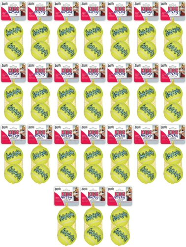 Kong Air Dog Squeaker Tennis Ball Large 48pk (24 x 2pk)