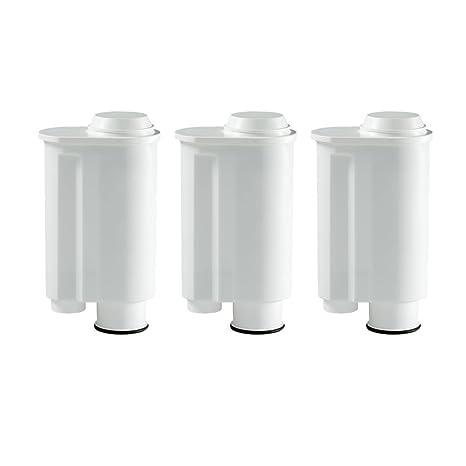3 filtro de agua cartuchos compatible con Saeco Philips Intenza, Lavazza Gaggia, A Modo
