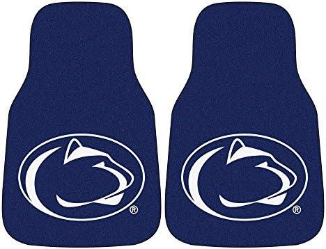 FANMATS NCAA Unisex-Adult 2-pc Carpet Car Mat Set