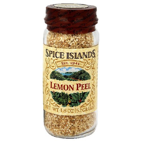 1.8 Ounce Jars - Spice Island Lemon Peel , 1.8-Ounce Jar (Pack of 3) by Island Spice