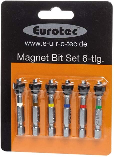 Eurotec Magnet-Bit-Set 50 mm; TX 10//15//20//25//30//40 /á 1 St/ück