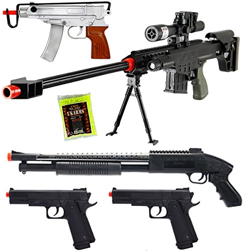 full auto airsoft sniper rifle - 7