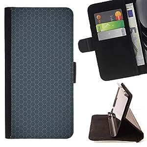 Momo Phone Case / Flip Funda de Cuero Case Cover - Simple patrón de 24 - Samsung Galaxy E5 E500