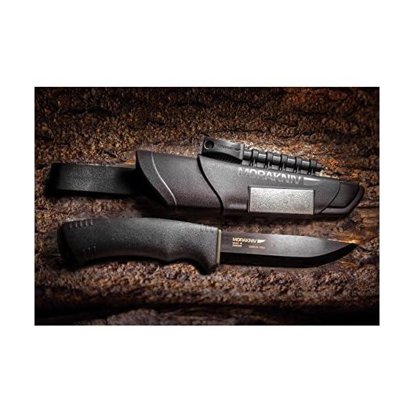 Morakniv Bushcraft Carbon Fixed Blade Knife