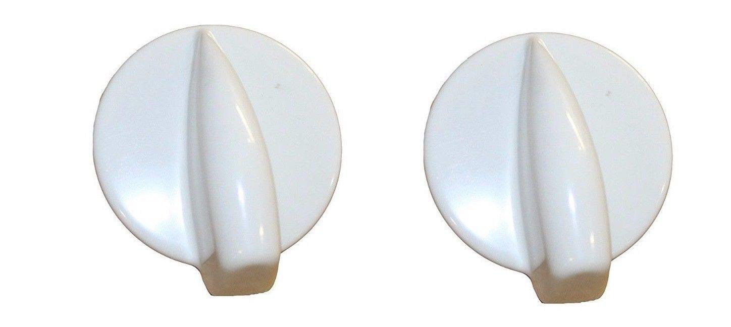 2 Pack Control Knob 8181859 for Whirlpool Kenmore Duet Washer Dryer