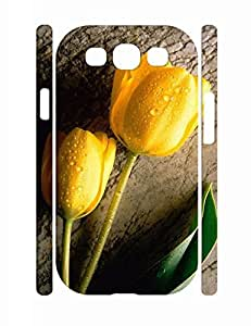 Hipster Floral Pattern Individualized Hard Plastic Samsung Galaxy S3 I9300 Cover Case