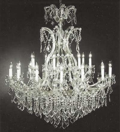 Large Foyer Entryway Maria Theresa Empress Crystal tm Chandelier Lighting H 52 W 46 Great for The Dining Room, Foyer, Living Room
