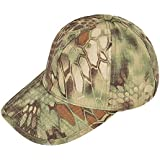 (ガン フリーク) GUN FREAK タクティカル ベースボール キャップ 帽子 ハニカム迷彩 ミリタリー サバゲー (マンドレイク グリーン)